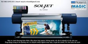 Máy in chuyển nhiệt, máy in vải 3d Roland SolJET EJ640, VersaExpress RF640