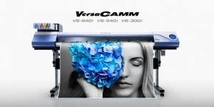 Máy in & cắt bế Decal PP khổ lớn từ Nhật Bản - Roland VersaCAMM VS640i/ VS300i/ VS540i