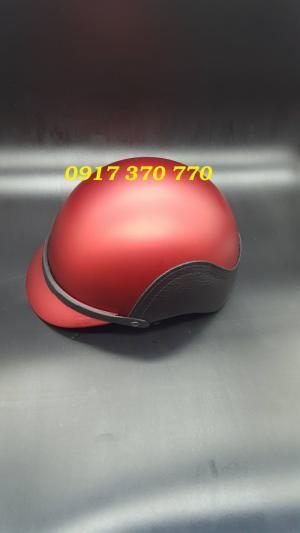 Xưởng làm nón bảo hiểm in thông tin quảng cáo theo yêu cầu giá rẻ