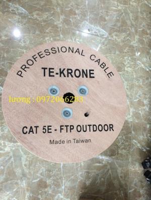 Cáp mạng TE-KRONE Cat5e ngoài trời
