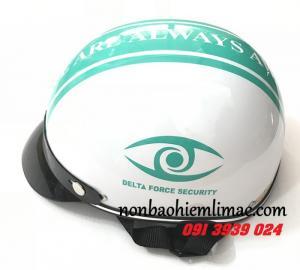 Báo giá in mũ bảo hiểm quà tặng giá rẻ, in mũ bảo hiểm công ty theo yêu cầu