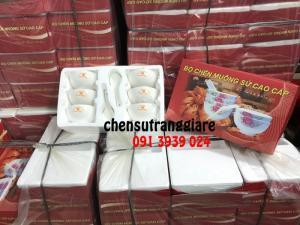 Chén sứ trắng, cung cấp chén sứ trắng giá rẻ, chén sứ trắng in logo