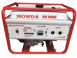 Máy Phát Điện Honda Sh 5500e (4,5kw; Xăng; Đề)