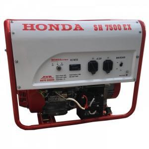 Máy Phát Điện Honda Sh 7500e (6kw; Xăng; Đề)