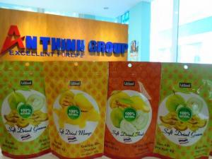Nguồn quà tết trái cây sấy dẻo nhập trực tiếp từ Thái Lan