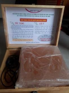 Đèn Đá Muối Himalaya Đặt Chân chữa bệnh đau nhức xương khớp