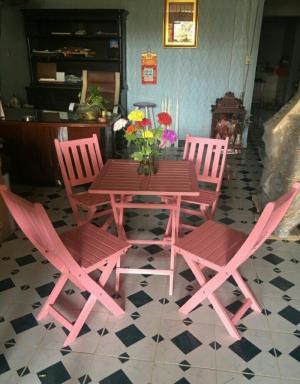 Bàn ghế gỗ xếp cafe thanh lý giá rẻ,thanh lý ghế cafe giá rẻ xgpt