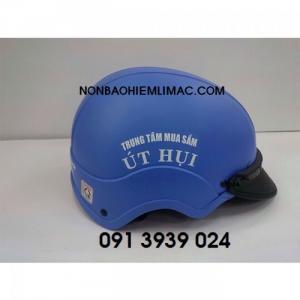 Làm nón bảo hiểm in logo theo yêu cầu sl từ 100 cái