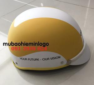 Đặt in nón bảo hiểm theo yêu cầu, xưởng sản xuất nón bảo hiểm giá rẻ