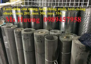 Lưới chống muỗi, lưới chắn côn trùng inox 304, inox 316, inox 201 giá tốt nhất