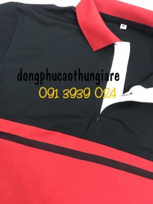 Xưởng may áo thun cá sấu poly giá rẻ, in thêu logo công ty theo yêu cầu