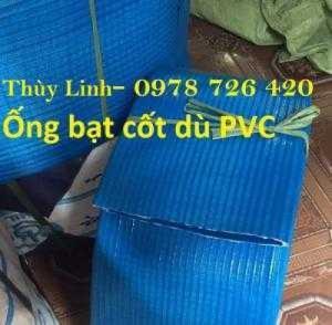 Ống bạt nhựa cốt dù PVC, ống bạt PVC bơm nước phi 80, phi 100, phi 120, phi 150, phi 200