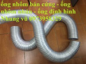 ống nhôm định hình - ống bán cứng - ống chụi nhiệt phân phối toàn quốc D80,D100,D125,D150,D175,D200,D250,D300,D350,D400