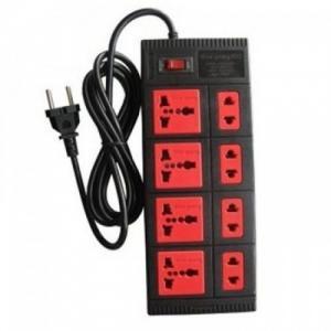 Ổ cắm điện 8 lỗ dây dài 5m điện quang ESK5BR
