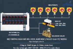 Máy báo rò rỉ khí độc công nghiệp QM-4700D(T)