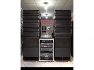 Dàn âm thanh sân khấu Line ARRAY 30 đơn và sub hầm đơn 50 cho 300 khách