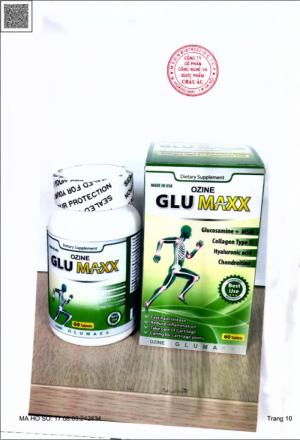 Ozine GluMaxx -  Viên uống bổ xương khớp của Mỹ