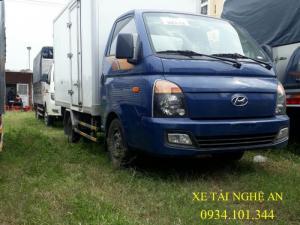 Giá xe tải Hyundai Porter H150 thùng kín compusite 1.5 tấn/ 1T5 ở nghệ an, hà tĩnh.