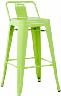 Ghế tolix màu xanh lá cây