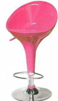 Ghế xoay trong quán bar màu hồng