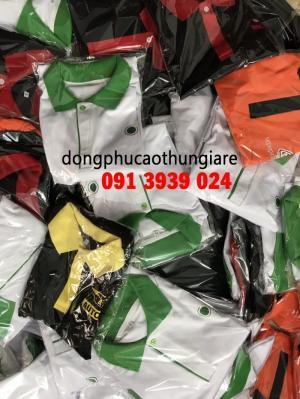 Xưởng may áo thun in logo theo yêu cầu giá rẻ, may áo thun uy tín