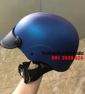 MŨ bảo hiểm in LOgo tại Tphcm. Mũ bảo hiểm uy Tín, Mũ in giá rẻ