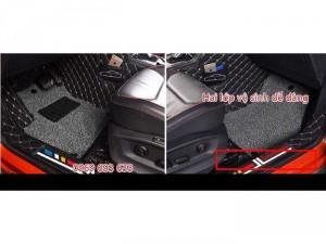 Thảm sàn Peugeot 5008- 6D thiết kế có chỗ để...
