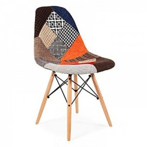 Ghế gỗ hình thổ cẩm MTT2