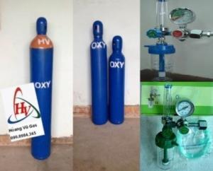 Bình khí oxy y tế tại Hóc Môn, Quận 12, Gò Vấp, TPHCM