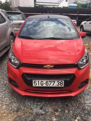 Bán Chevrolet Spark LS 1.2MT màu đỏ số sàn...