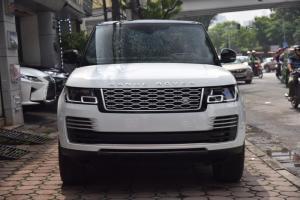 Bán LandRover Range Rover Autobio LWB 5.0 sx 2018, màu trắng, nhập khẩu nguyên chiếc Mỹ giá tốt LH: 0982.842838