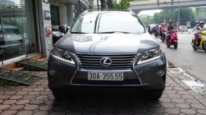 Lexus RX 350 đời 2014, màu xám (ghi), nhập khẩu Mỹ, biển Hà Nội tứ quý cực vip LH: 0982.842838