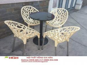 Bàn ghế cafe giá rẻ nhất hghm4