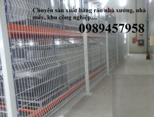 Hàng rào nhà xưởng giá rẻ tại Hà Nội mới 100%