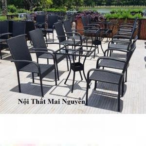Bàn ghế cafe thanh lý giá rẻ tphcm-mn