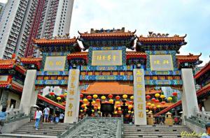 Hongkong - Quảng Châu - Tham Quyên - Miếu Huỳnh Đại Tiên - Disneyland