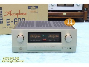 Amply Accuphase E600 like new 99%