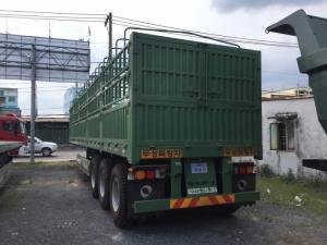 Bán Mooc lồng Doosung (khung mui,mui bạt), 3 trục 40 feet, tải trọng cao, Giao ngay
