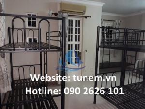 Giường tầng sắt sinh viên, nhà trọ giá rẻ HCM