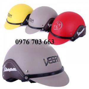 Chuyên sản xuất nón bảo hiểm in logo quà tăng theo yêu cầu
