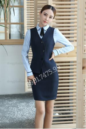 Địa chỉ may đồng phục áo gile nữ thời trang, đảm bảo chất lượng
