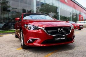 Mazda 6 (Đỏ) - Đủ Màu Giao Ngay - LH Hotline Nhận Giá Tốt Nhất
