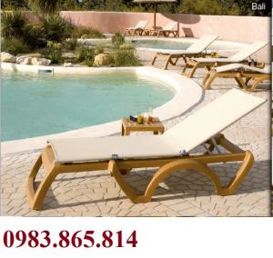Bàn ghế nhựa cho hồ bơi, bàn ghế nhựa grossfilex, bàn ghế hồ bơi