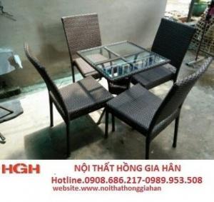 Bàn ghế cafe sân hghi5