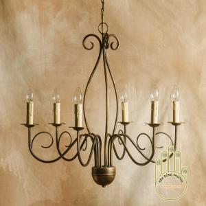 Đèn chùm sắt cổ điển MS01121
