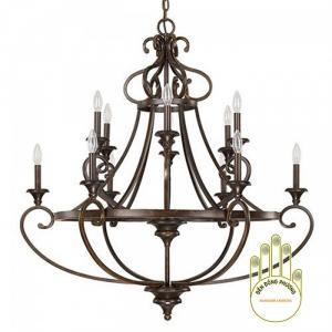 Đèn chùm sắt trang trí MS01128