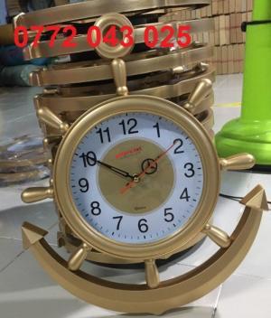 Cơ sở sản xuất đồng hồ treo tường hình mỏ neo giá rẻ xi đồng cao cấp