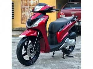 Cần Bán SH nhập khẩu 125 đời cuối 2011 màu đỏ nguyên bản cực đẹp- Biển Hà Nội.