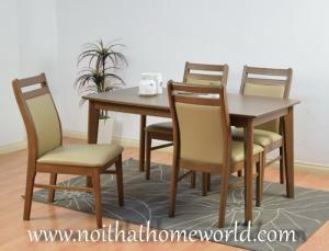 Bộ bàn ăn ghế bọc nệm cao cấp mã số HW364- Hàng xuất Nhật- Free ship HCM