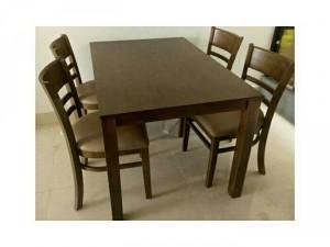 Bộ bàn ghế gỗ phòng ăn VD072